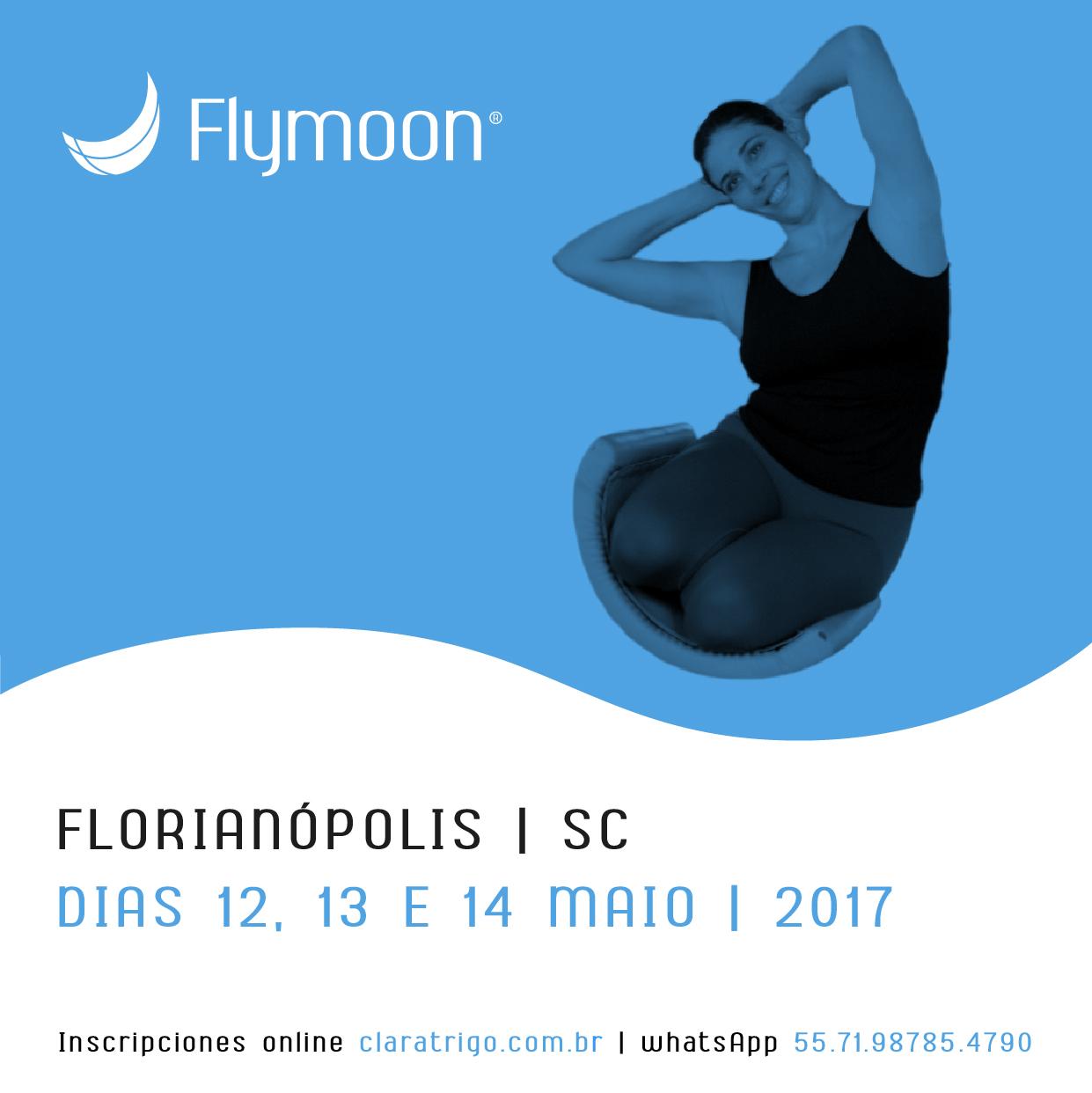 Formação Flymoon® Florianópolis! 12, 13 e 14/05