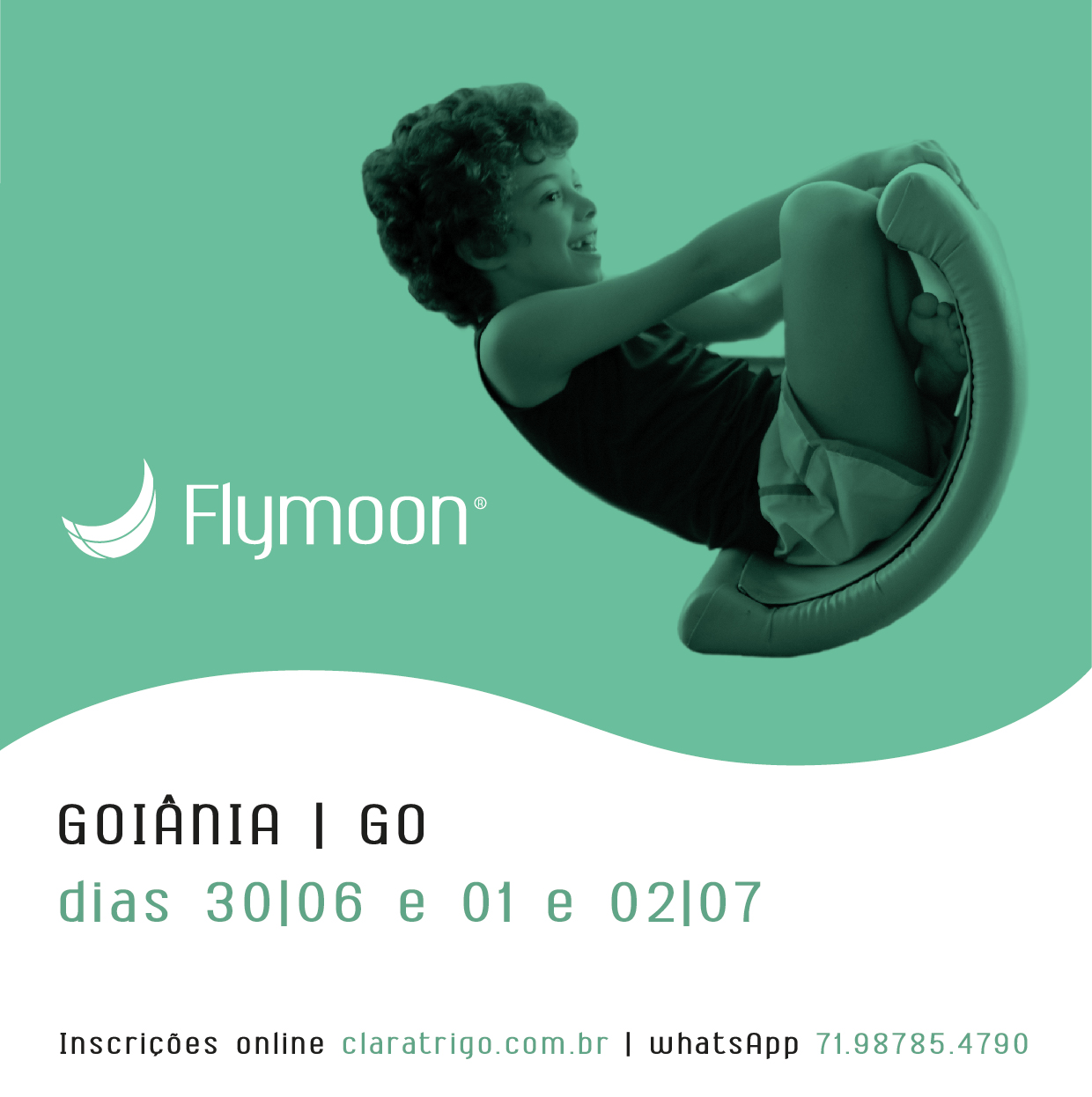 Formação Flymoon® Goiânia 31/06, 01 e 02/07